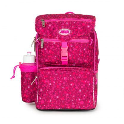 Pink beginners schoolbag