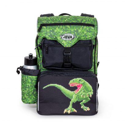 Schoolbag with dino