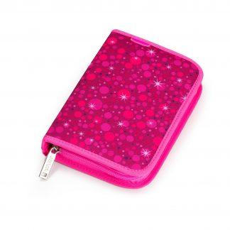 neon pink pencil case