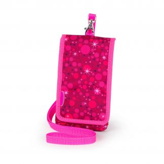 pink mobile cover with string