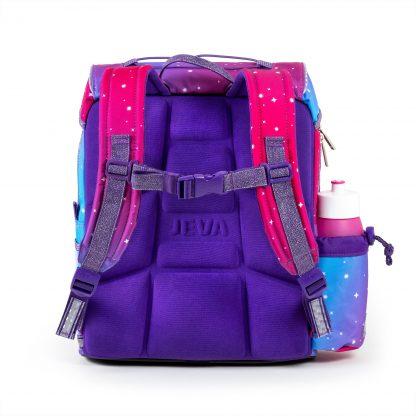 purple ergonomic foam-back