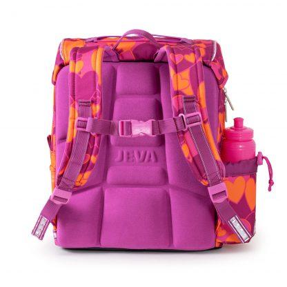schoolbag with ergonomic back