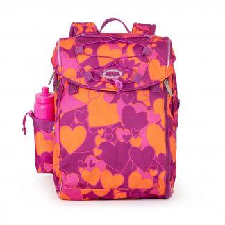 schoolbag with hearts