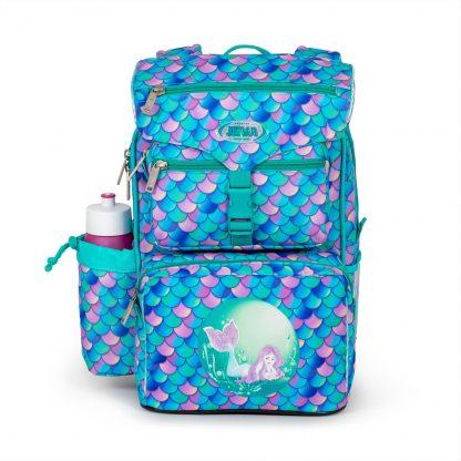 mermaid schoolbag with glitter