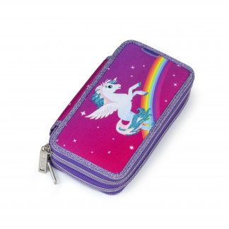 pencil case with alicorn