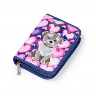 pencil case with dog print