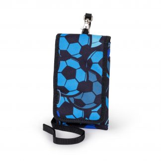 blue mobile cover