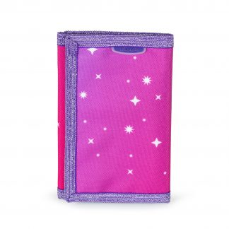 wallet with glitter