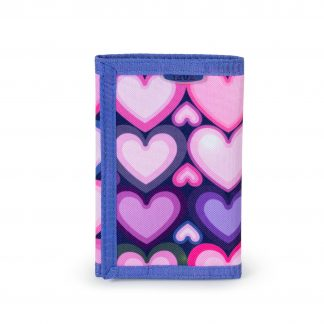 wallet with heart pattern