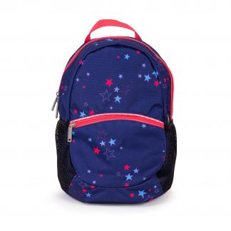 Small blue excursion rucksack.