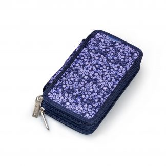 pencil case with flower pattern