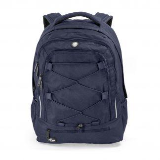 Dark blue backpack for school
