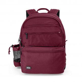 red backpack for children
