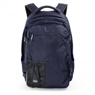 large dark blue backpack