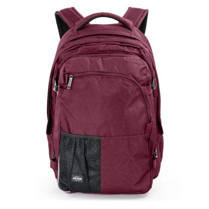 dark red 2-in-1 backpack