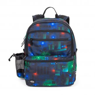 backpack with sports bag
