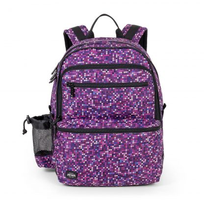 backpack with hearts